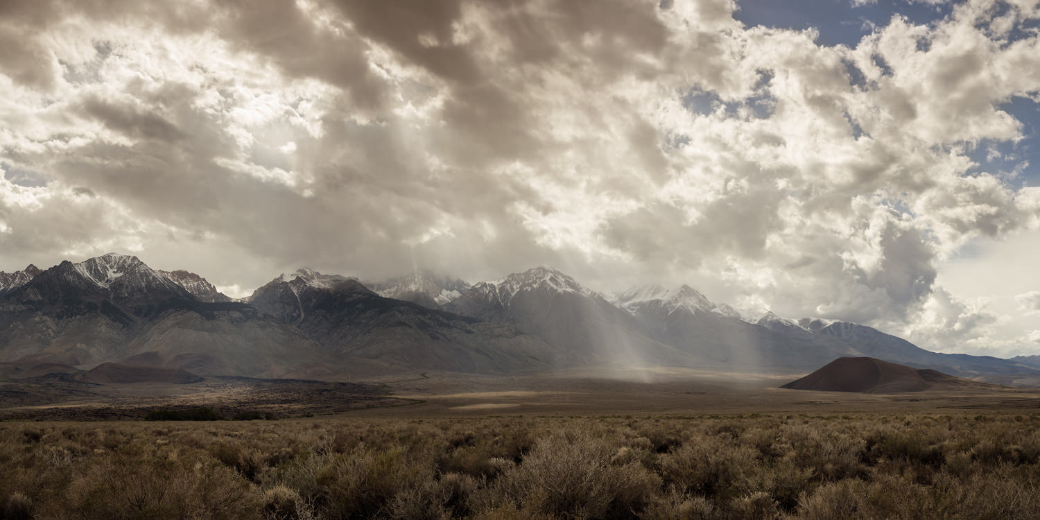 Hunting an Afternoon Storm, Eastern Sierra