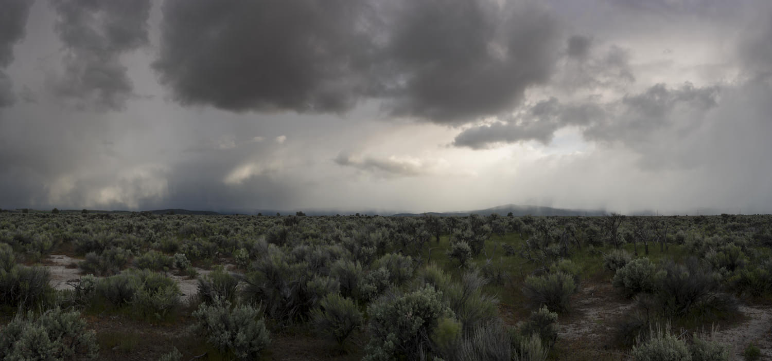 Oregon High Desert with Storm, 2017