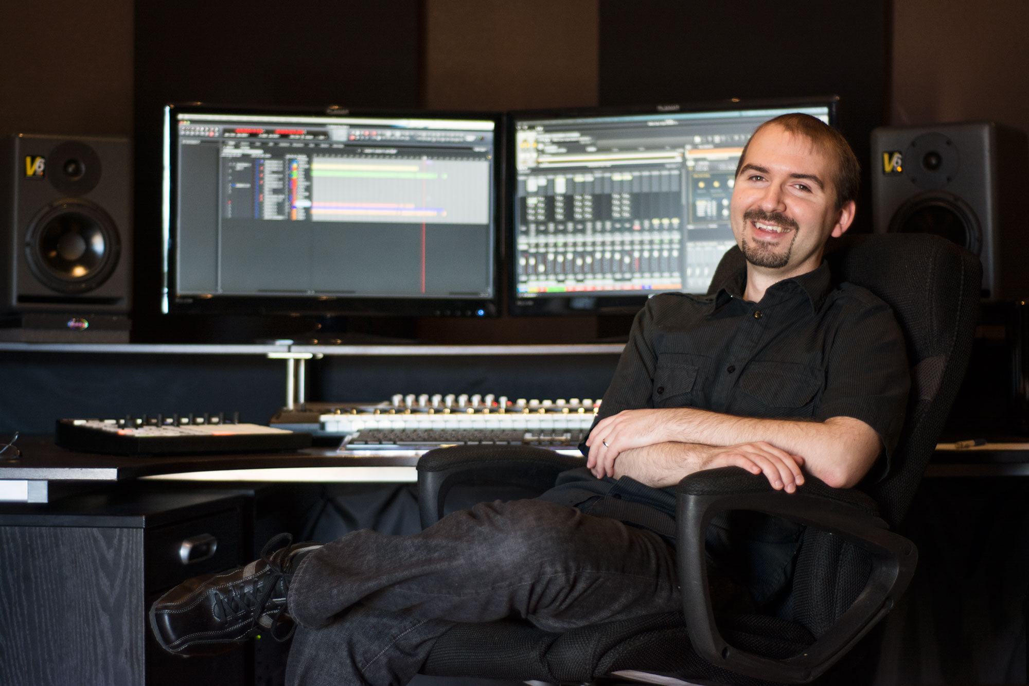 Jeremy Cays in Control Room