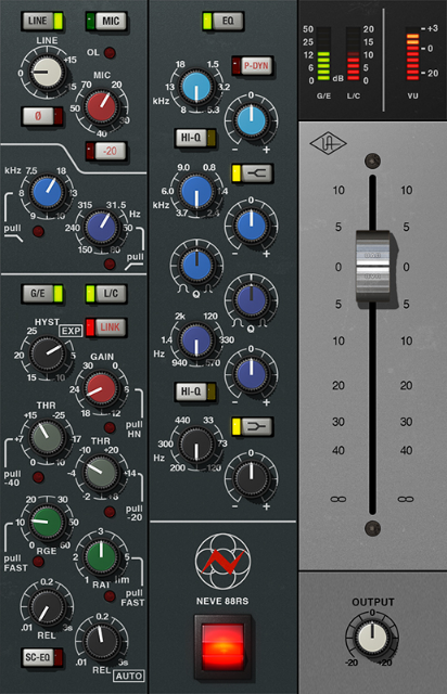 One of our favorites at Jeremy Cays Productions - the Neve 88RS.