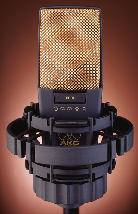 Our go-to mic for vocals, the AKG C414 XLII is one of the most popular mics in the industry.