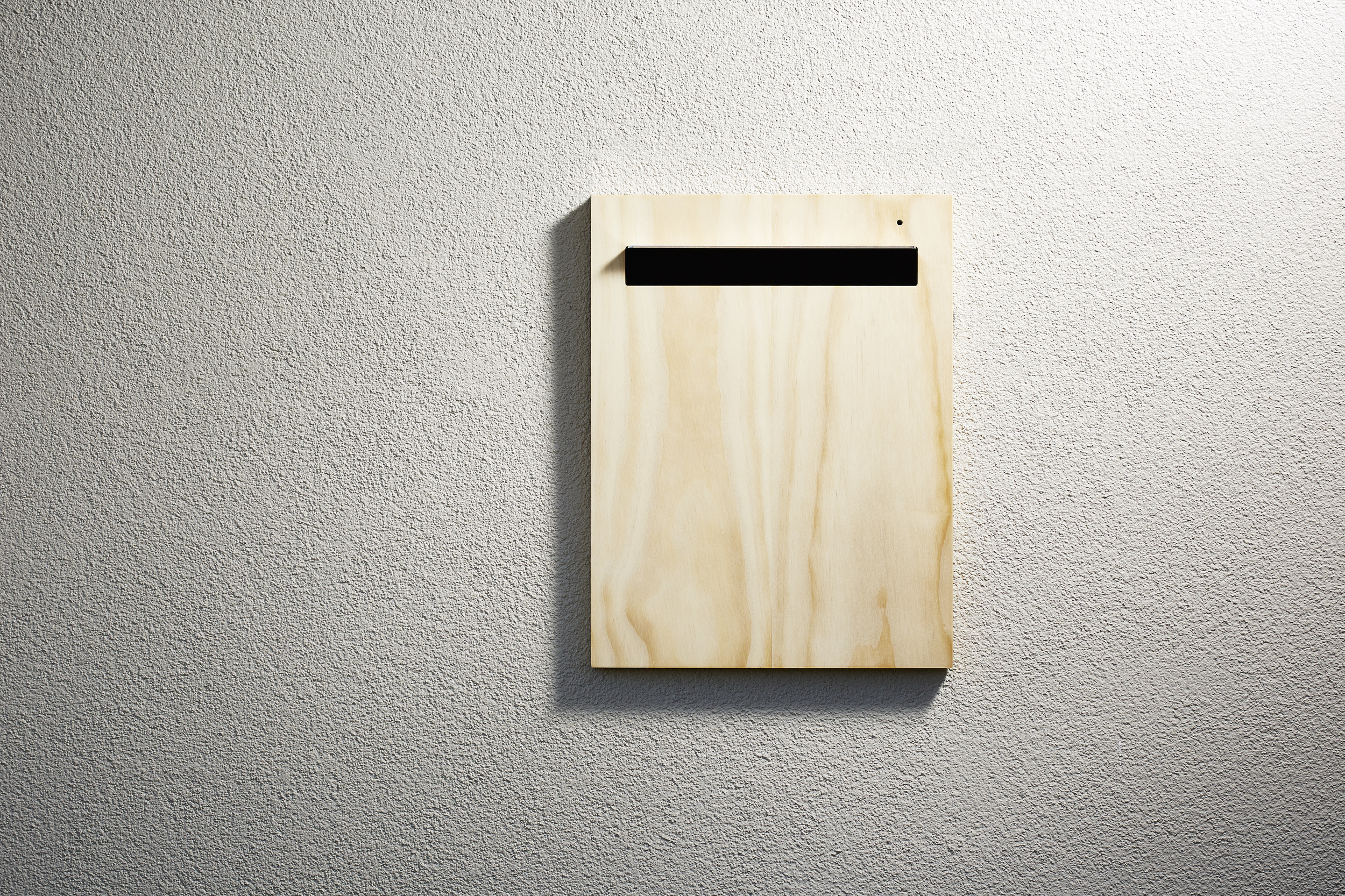 Timber Letter Box