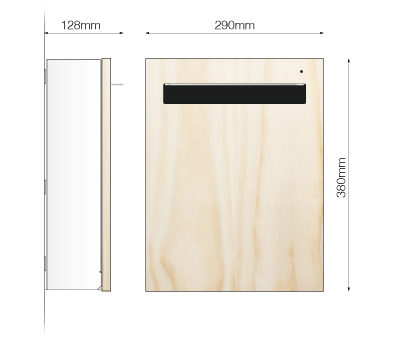 Wall Mount Mail Box Design Specifications