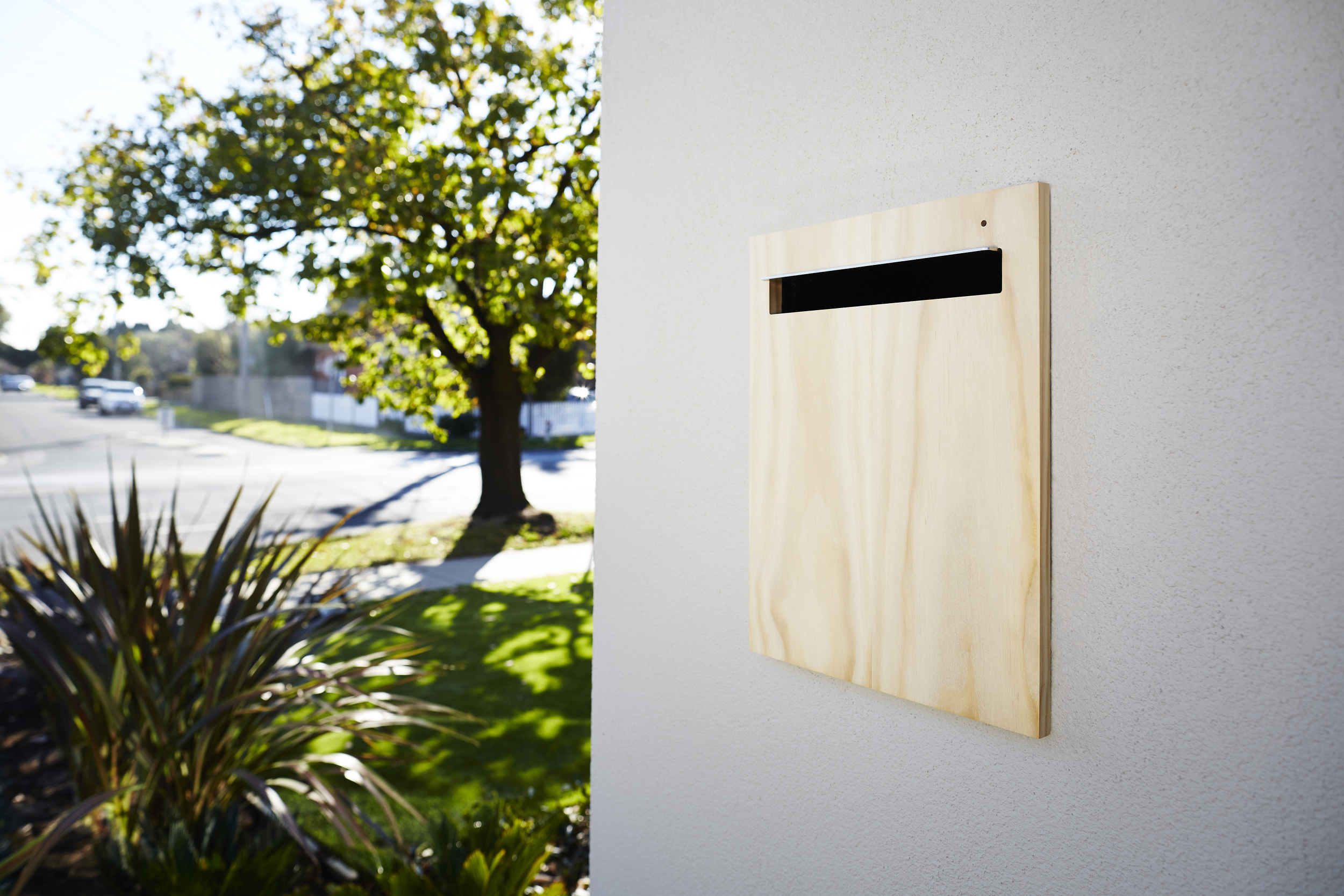 Flush Mounted Letterbox