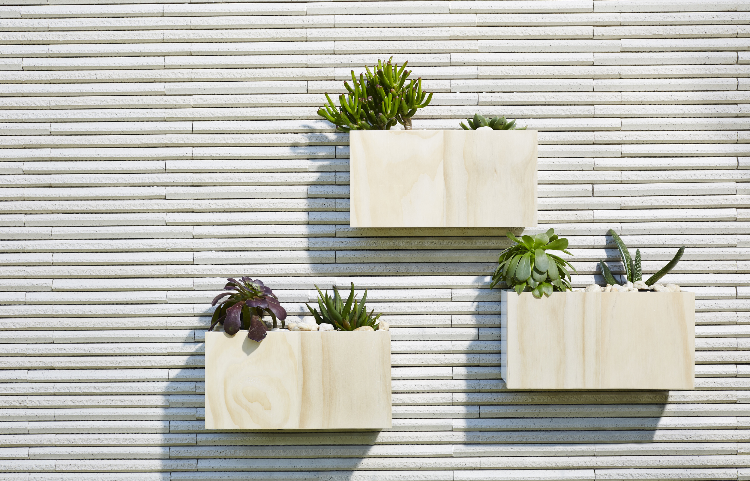 Wall Planter Boxes Design Layout