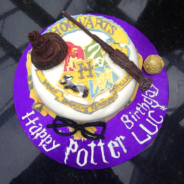 """Harry Potter"" themed cake."