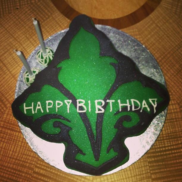 Seymour Greene logo cake