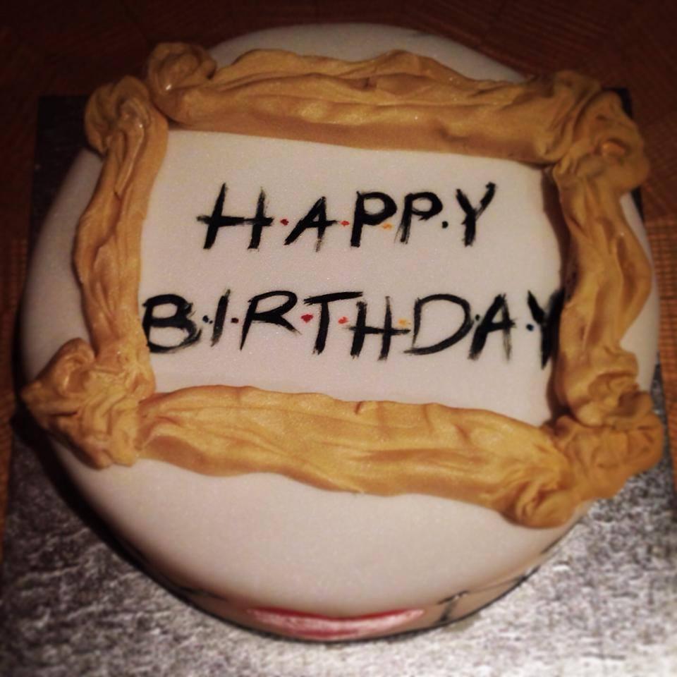 """""""Friends"""" & New York inspired cake"""