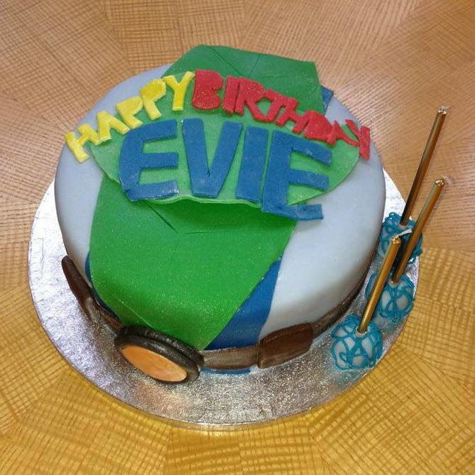 """Tree Fu Tom"" themed cake"