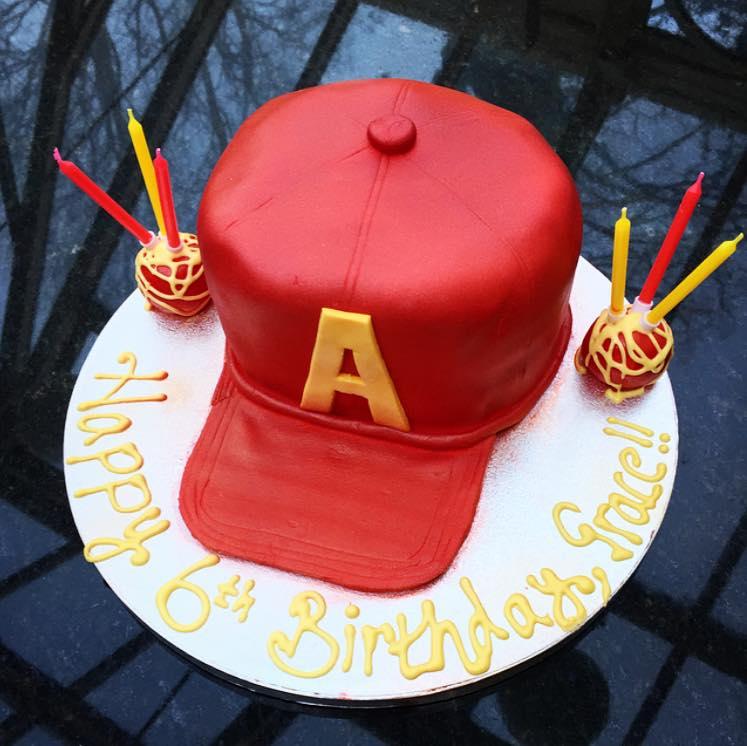 Alvin The Chipmunk Hat Cake