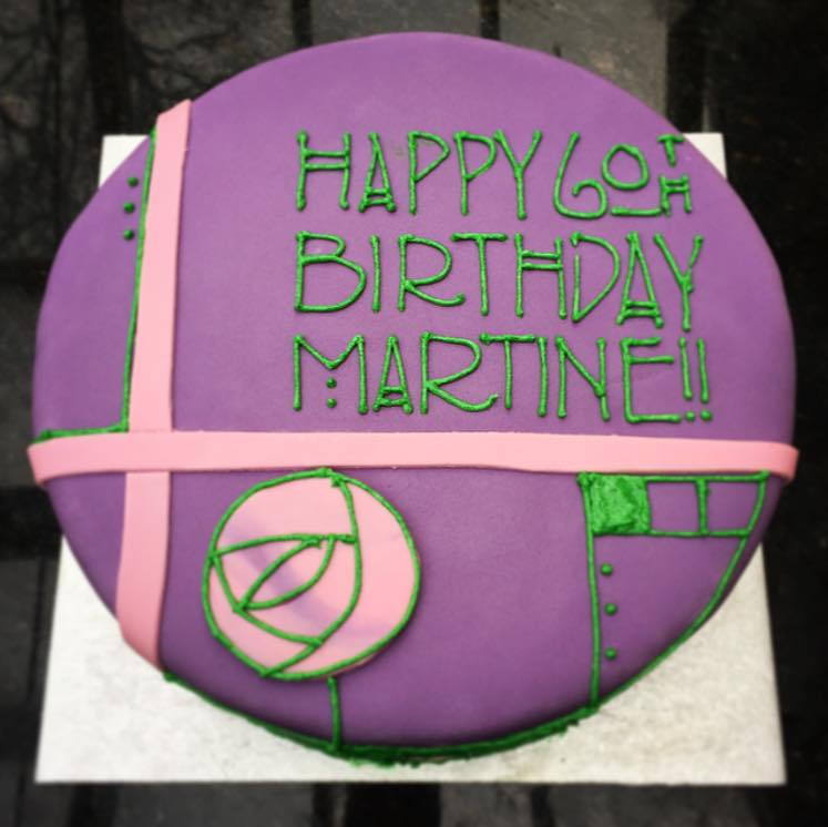 Charles Rennie Mackintosh Cake