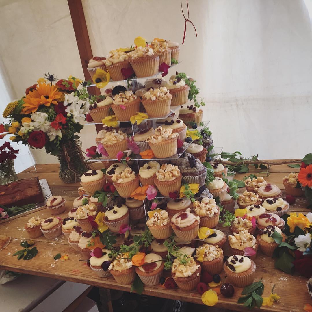 """Viking"" Assorted Wedding Cupcakes."