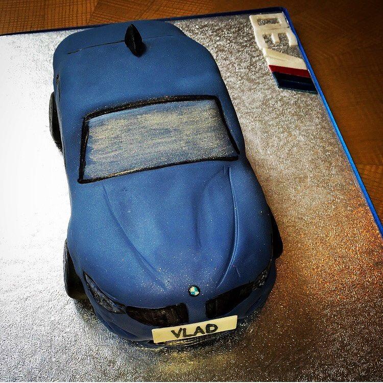 BMW M3 Car Cake