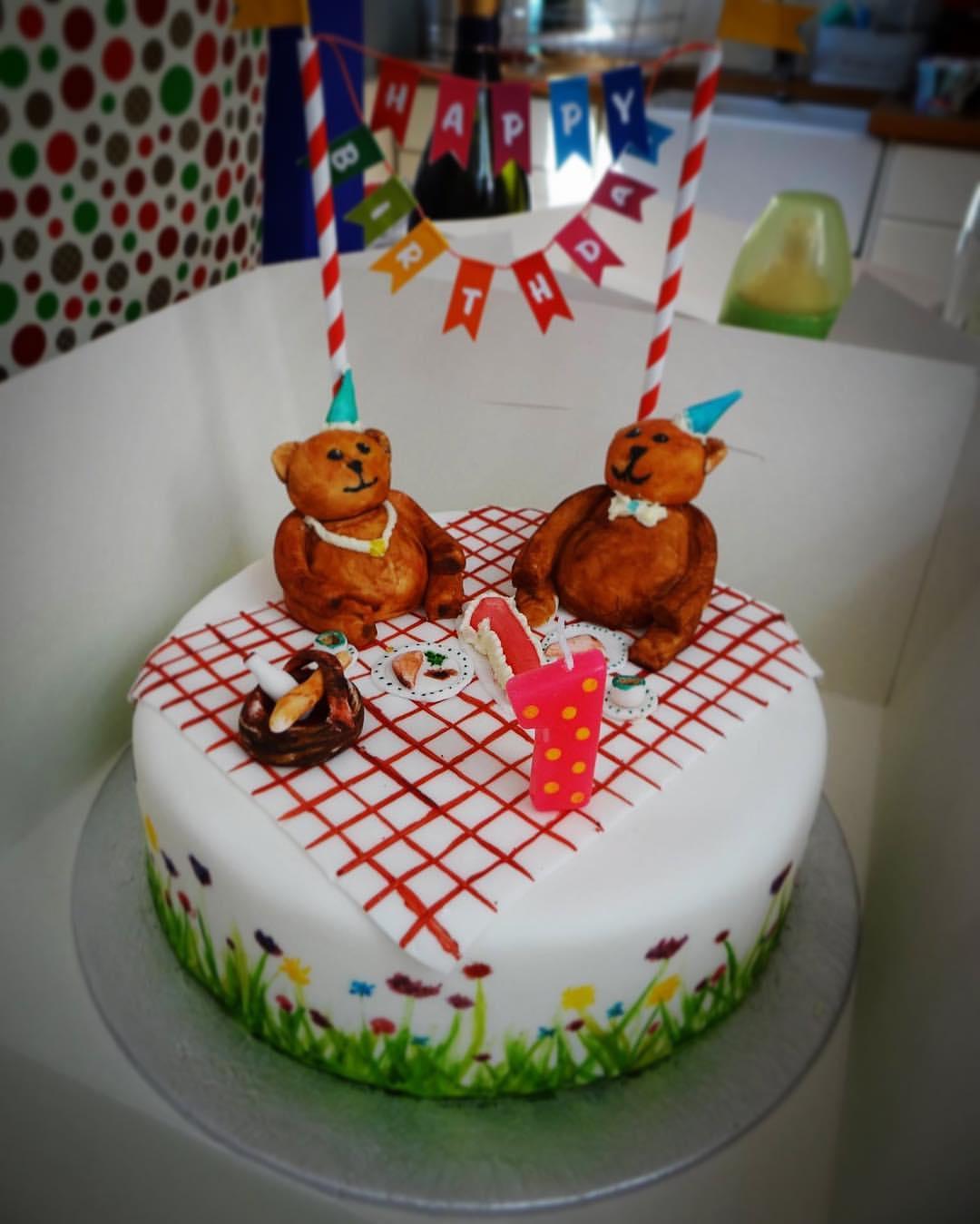 Teddy Bears' Picnic Cake
