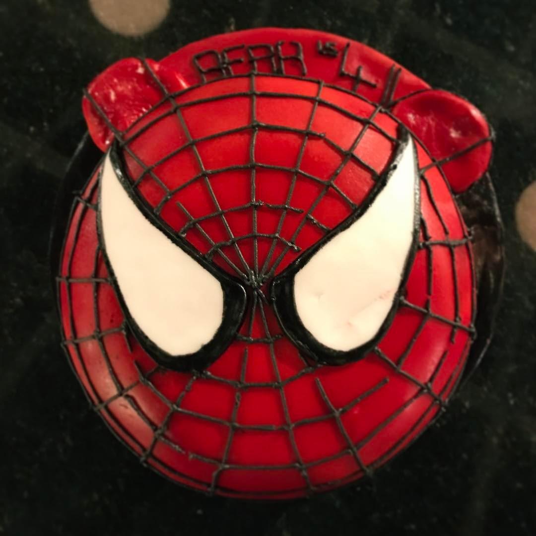 """Spider-Bear"" Cake"
