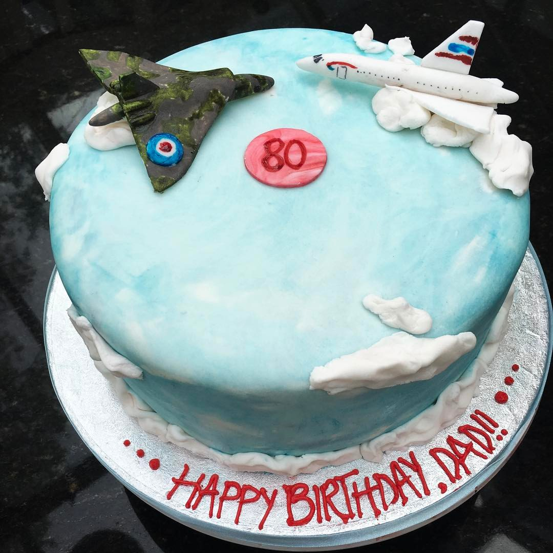 Aircraft Themed Cake