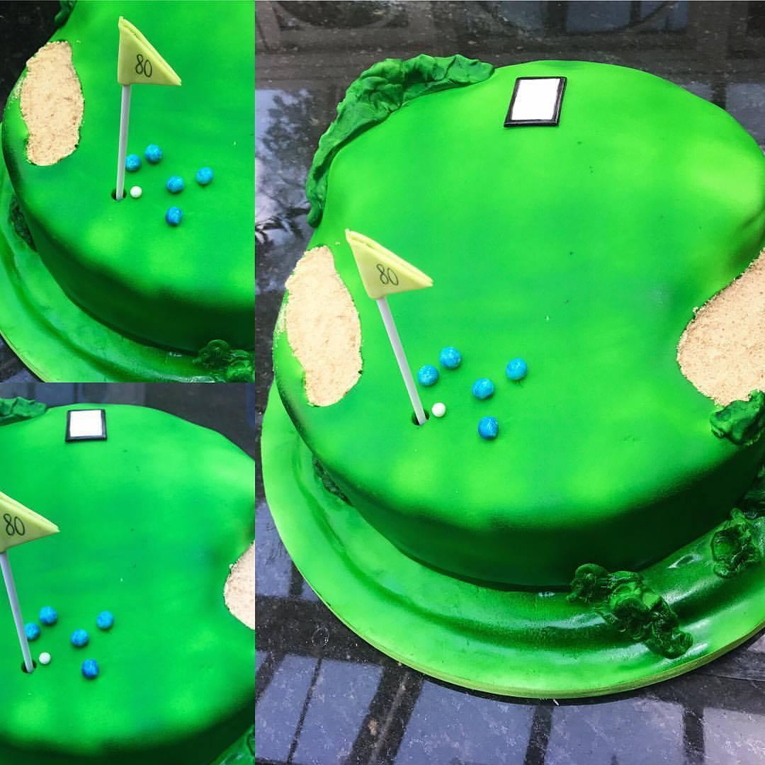 Golf/Bowls Cake.