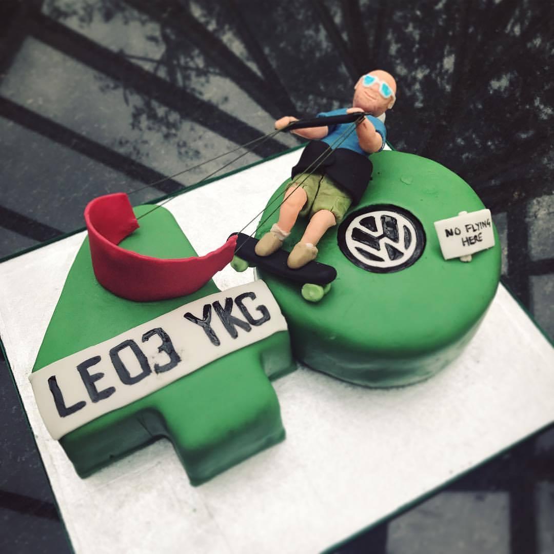 Kiteboarding Themed Cake.
