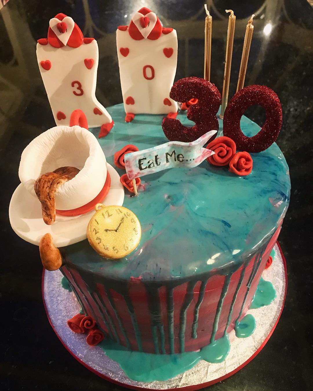 Mat Hatter Inspired Cake
