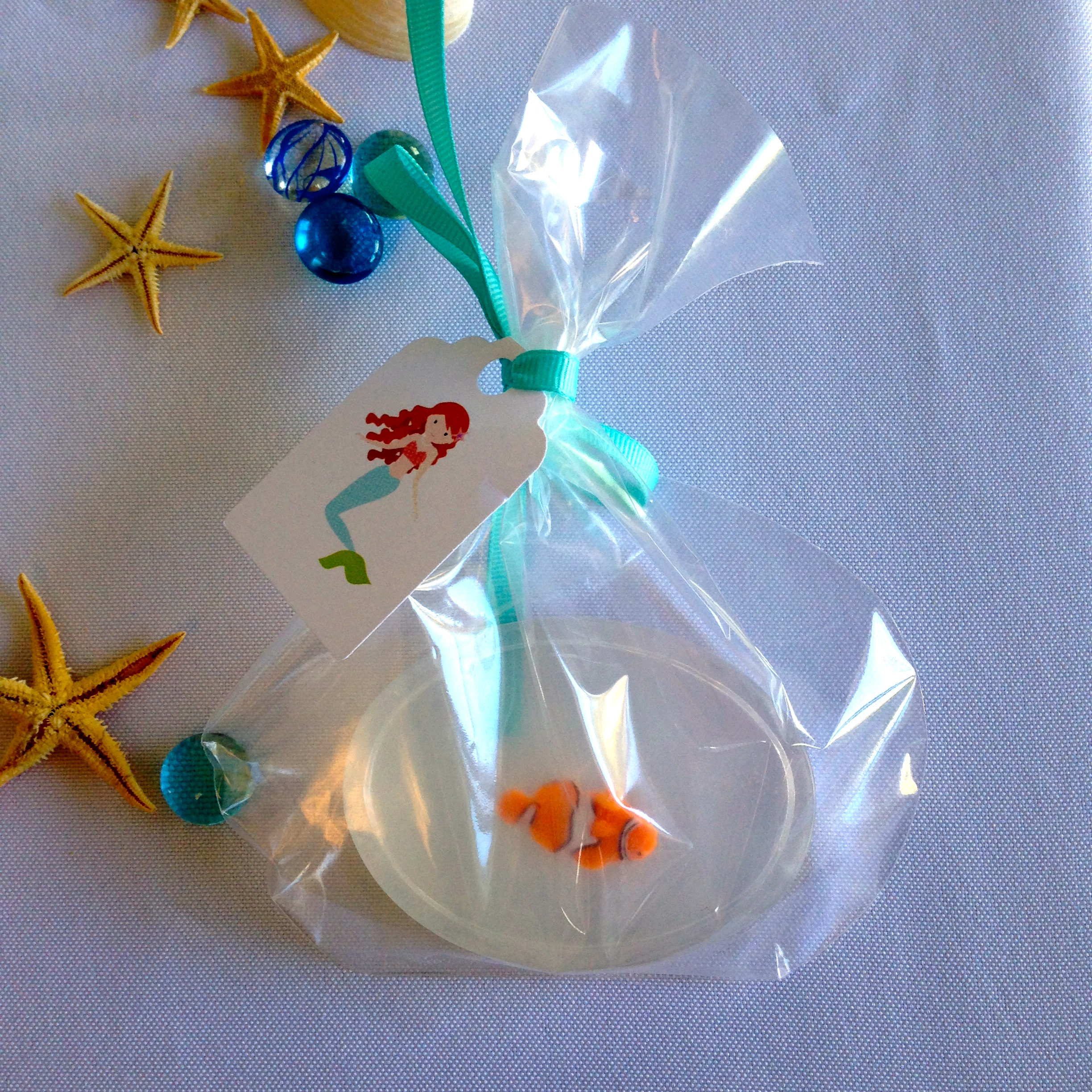 Fishy Soap Baby Shower Favors