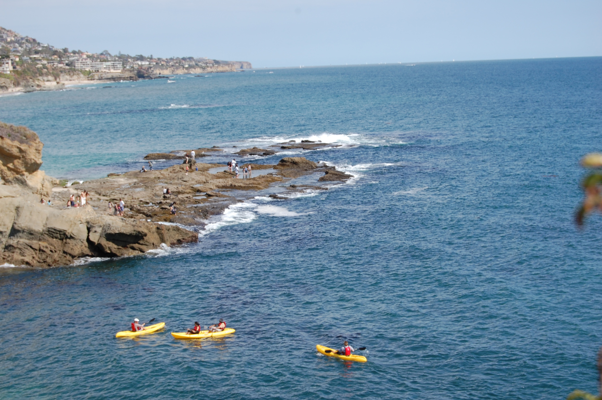 Kayaking Adventure Laguna Beach