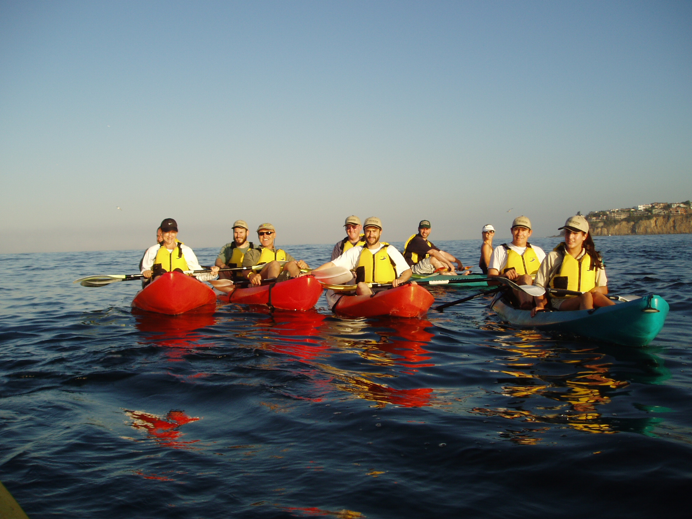 Large Groups Kayak Tour Laguna Beach