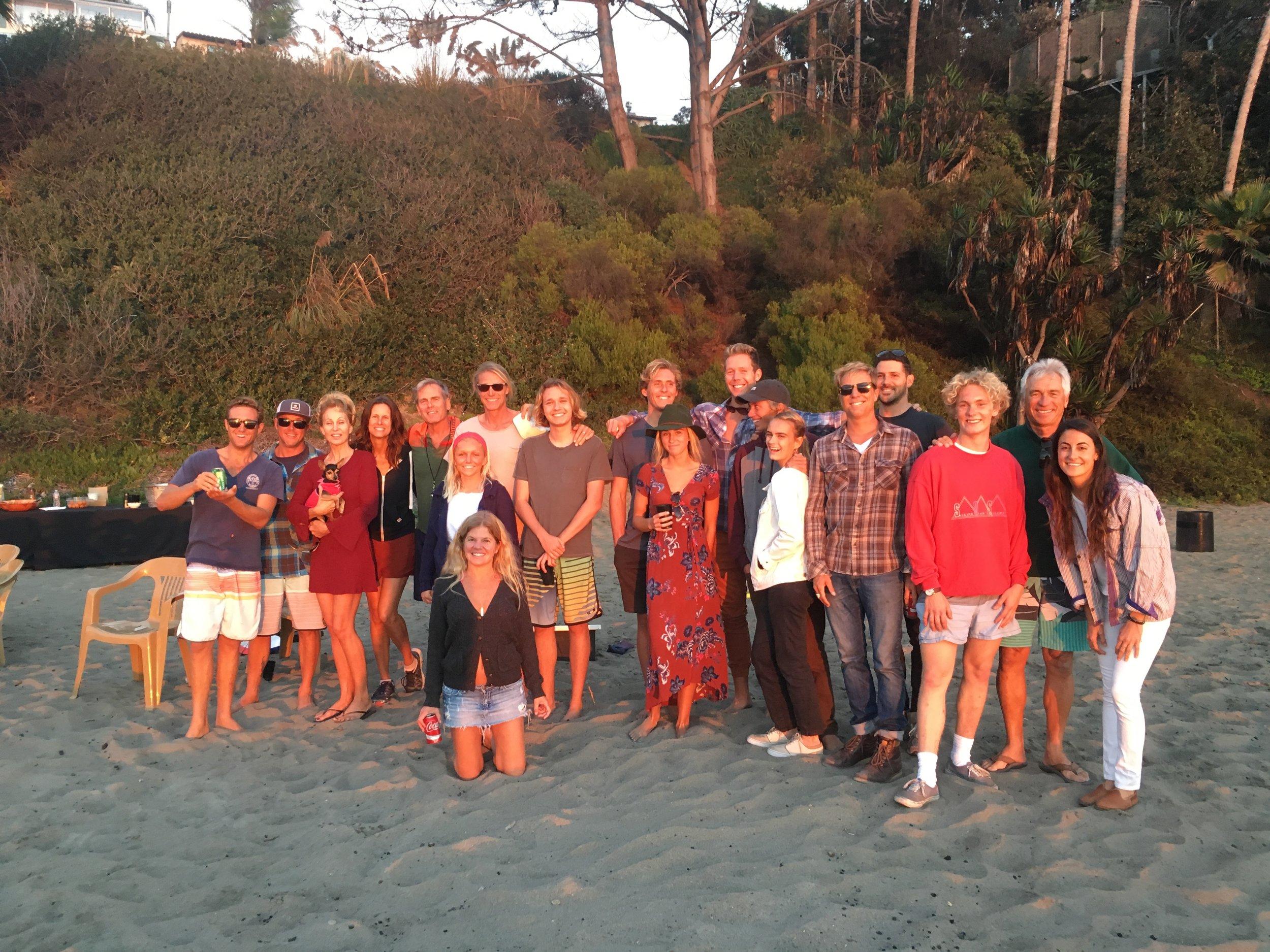 La Vida Laguna team building beach party