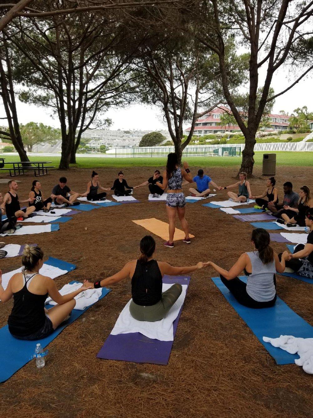 team building mindfulness