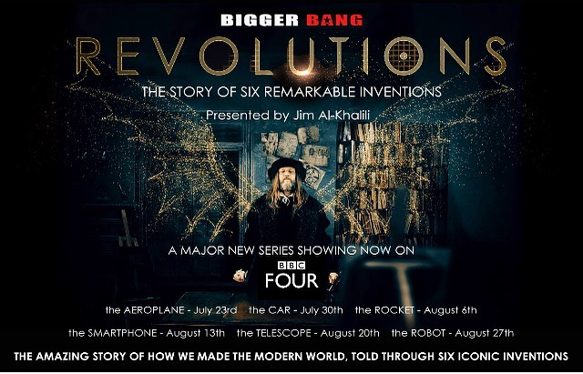 Tonight. A new series I was privileged to work as DoP on with the great team from Bigger Bang for BBC4.