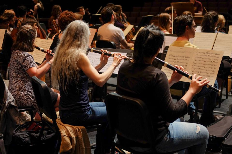 Early music training at the Tafelmusik Baroque Summer Institute, June 2017. Photo: Lysiane Boulva
