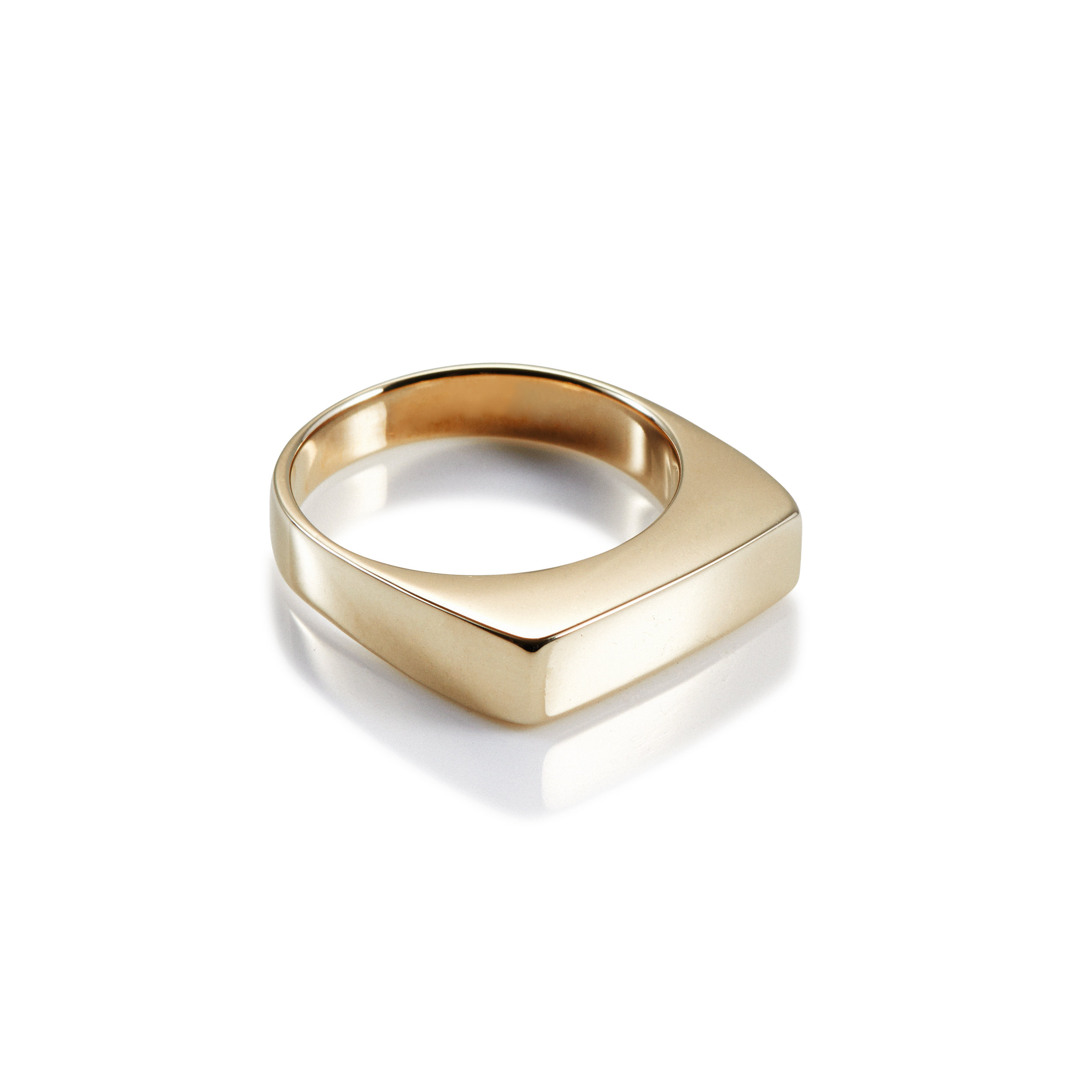 Little Flat Top Ring Charlotte Cauwe