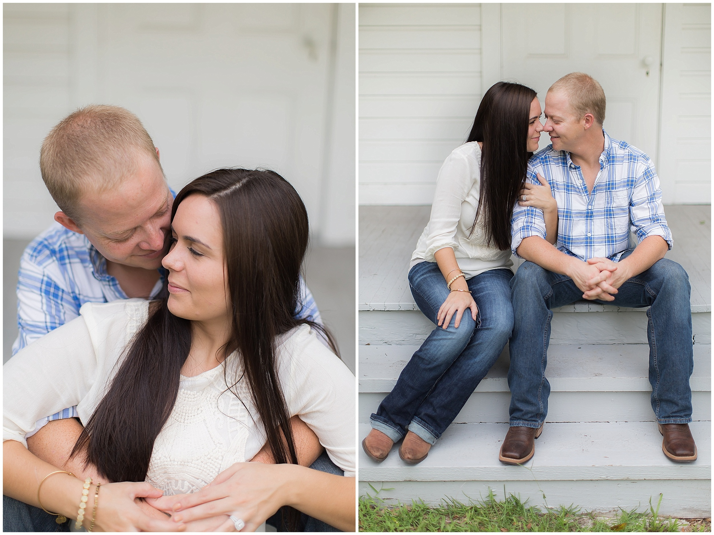 Sweet Southern Engagement Session |  PSJ Photography