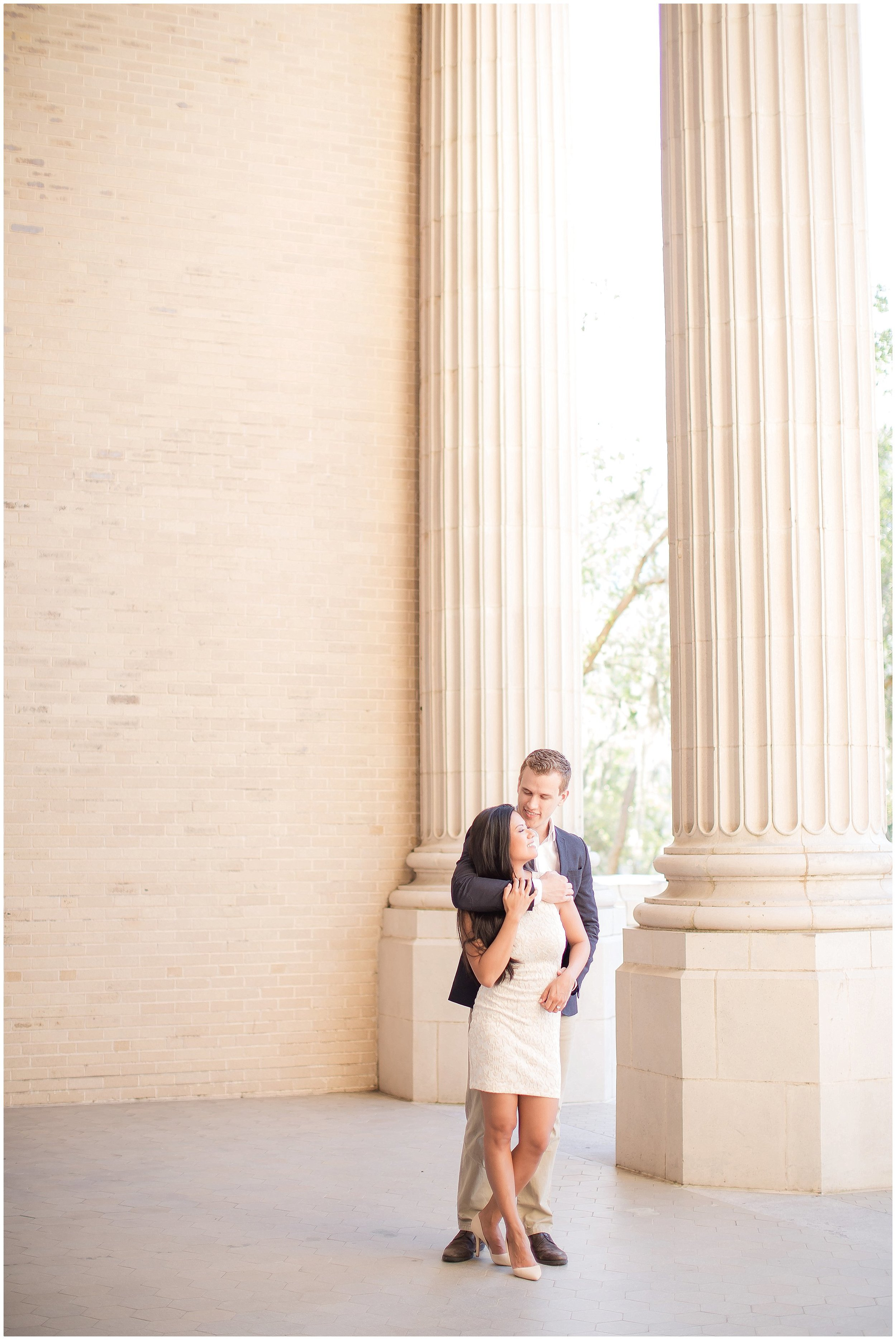 Old Courthouse Downtown DeLand Engagement Session
