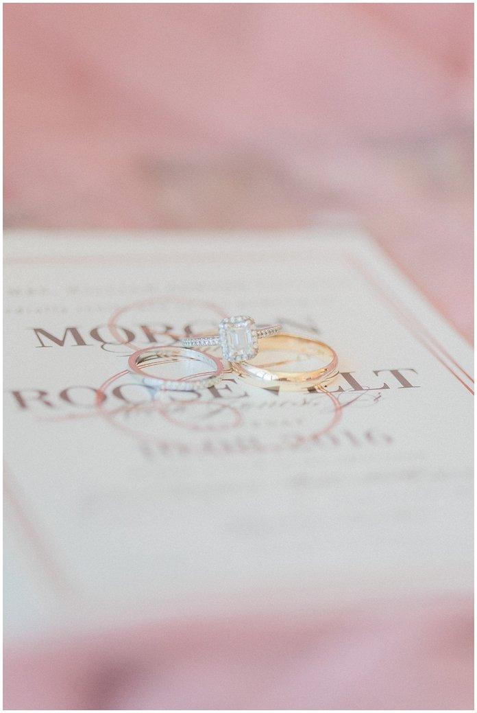 Blush Wedding Details & Invitation