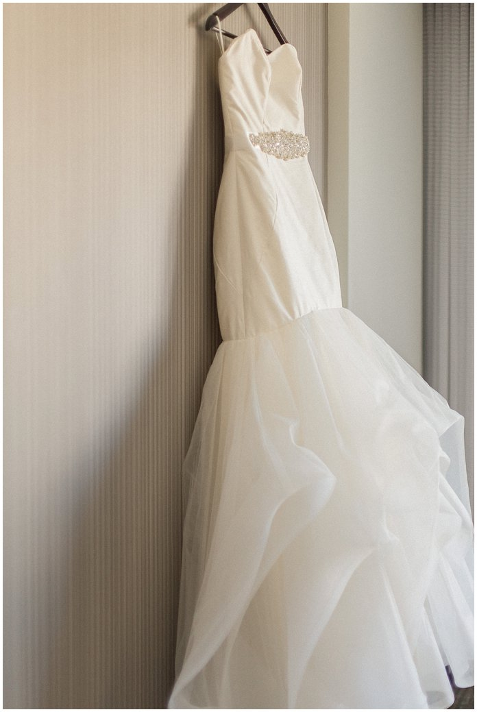 Hayley Paige Wedding Gown with Tulle Train