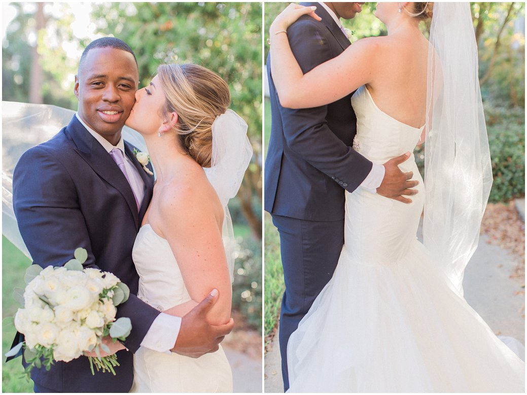 Bride and Groom Portraits in St Augustine at the River House