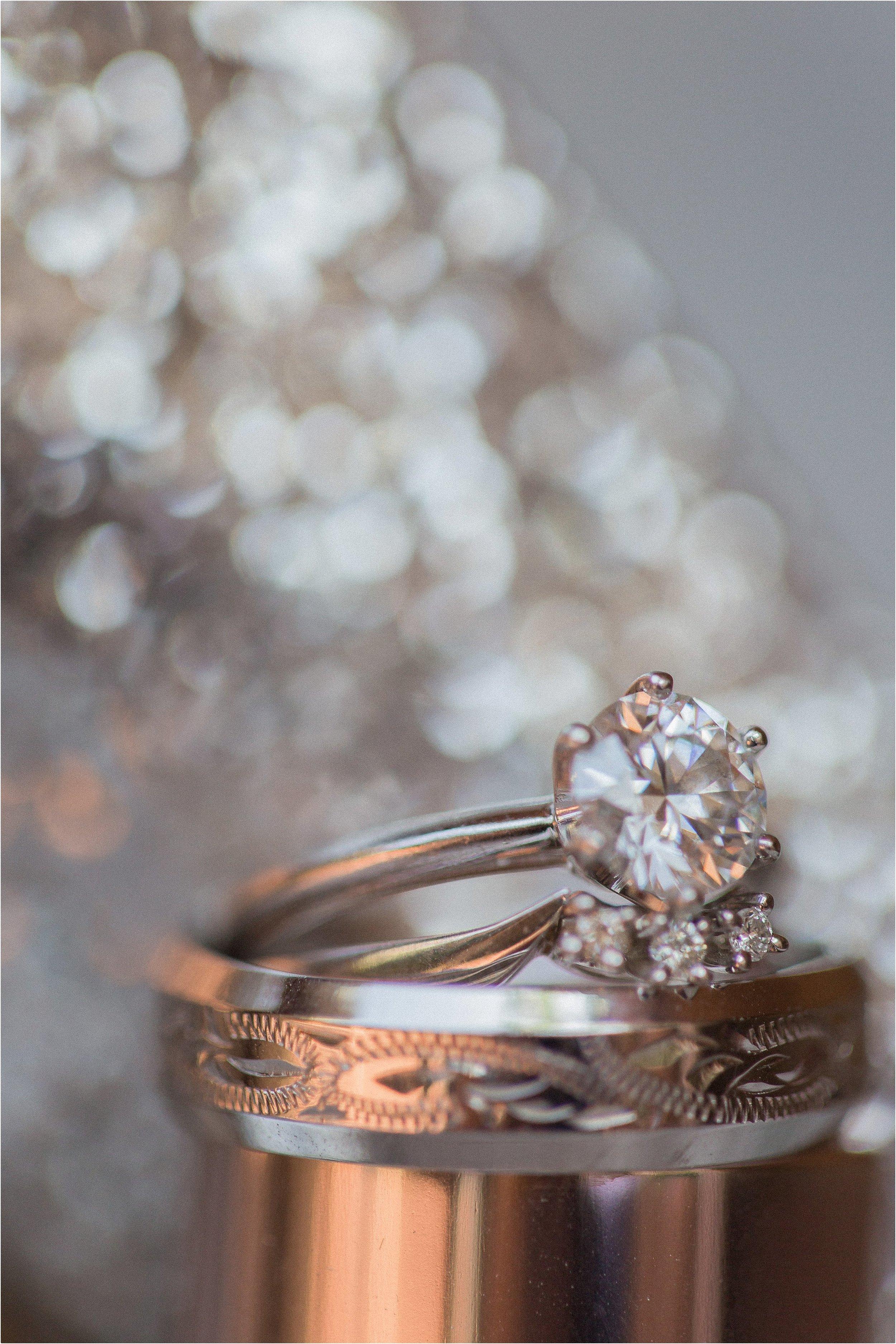 Round Diamond Engagement Ring.