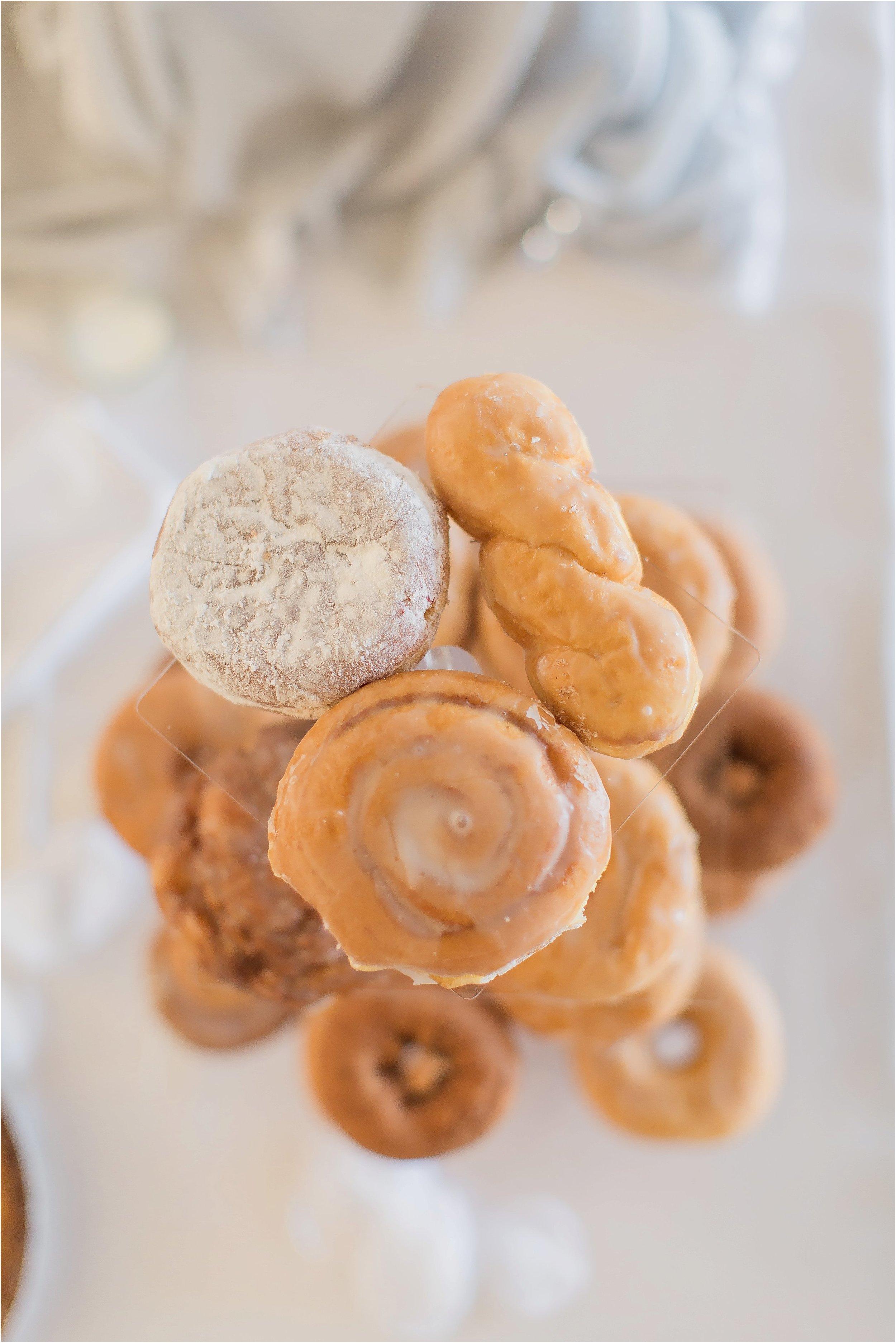 Wedding Cake Donut Tower