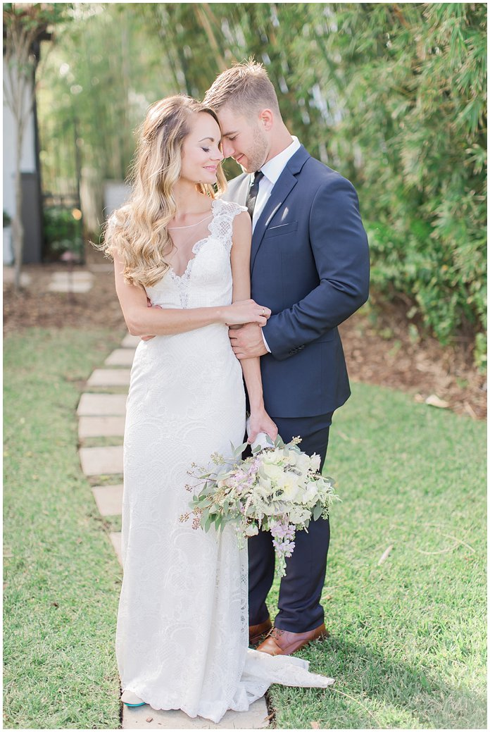 Romantic Bride and Groom Moments at Black Dolphin Inn Wedding - New Smyrna