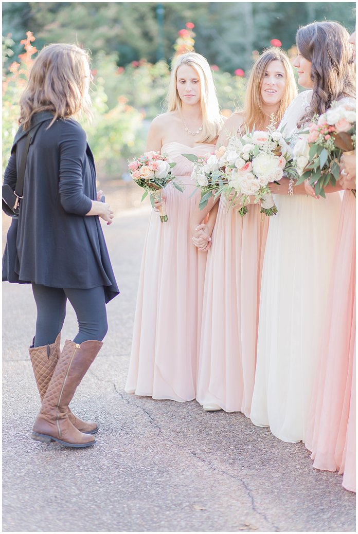 In my happy place with some gorgeous bridesmaids!