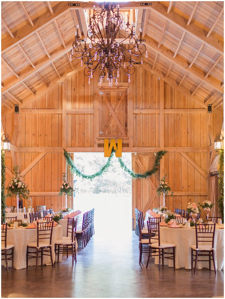 Bridle Oaks Blush Barn Wedding