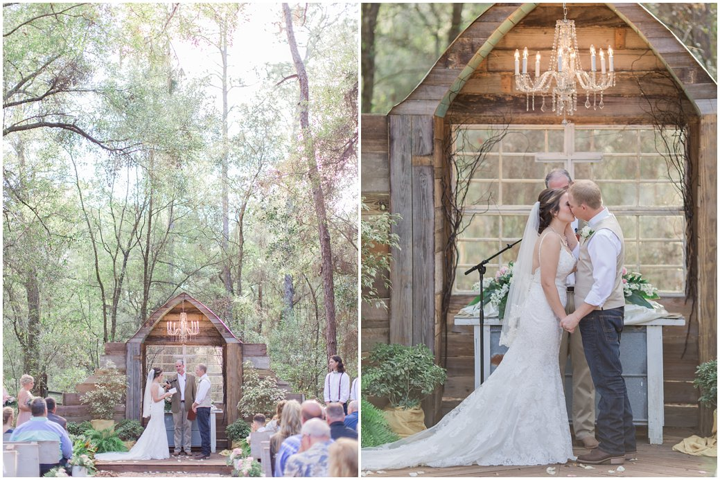 Bridle Oaks in DeLand Florida Rustic Chic Wedding