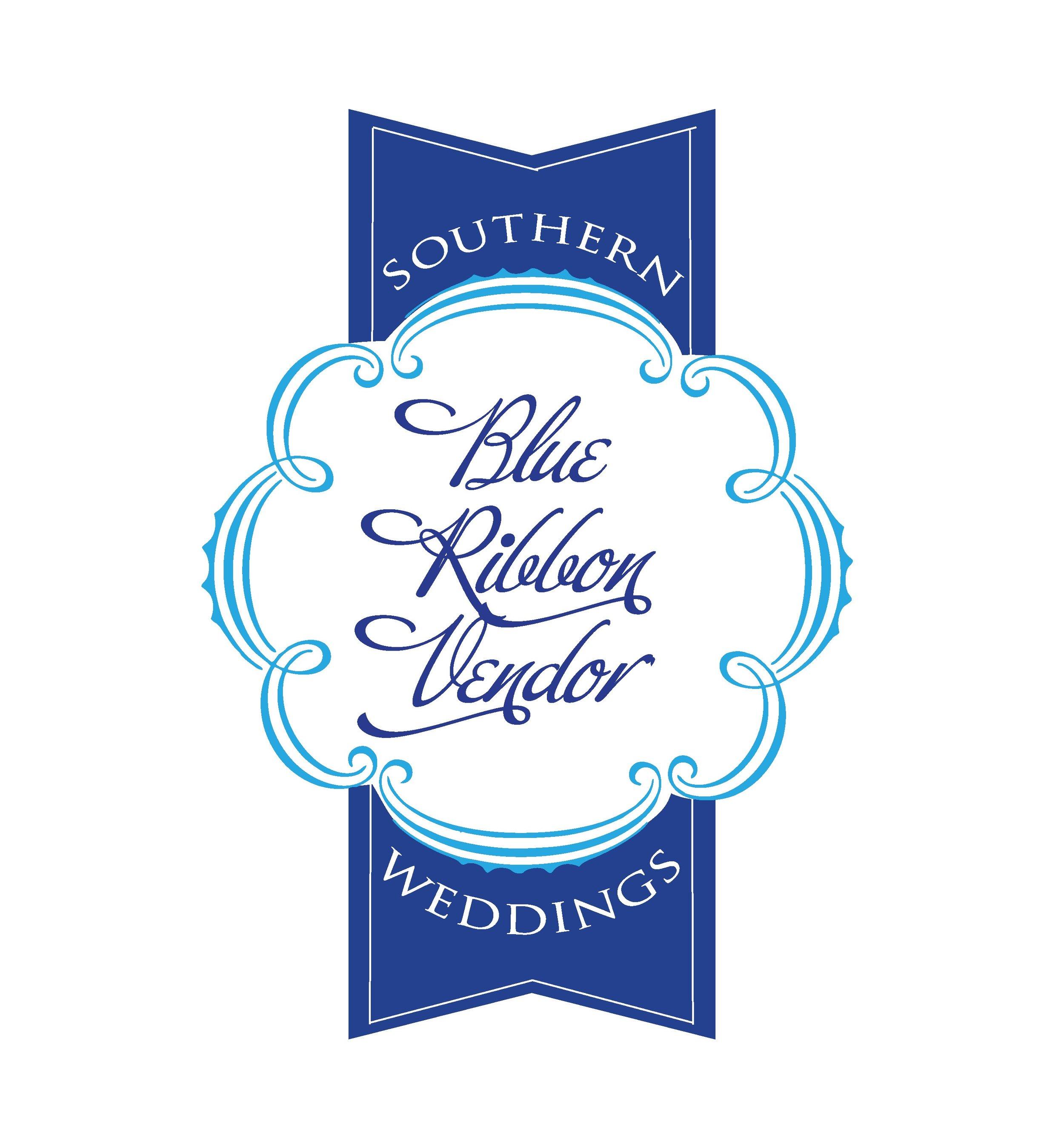 Southern Weddings Blue Ribbon official badge 2011 2012.jpg