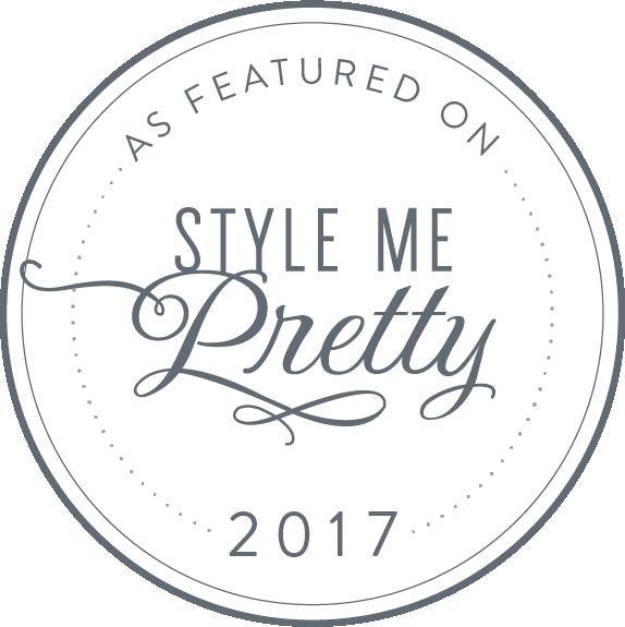 Style Me Pretty Published Florida Wedding Photographer