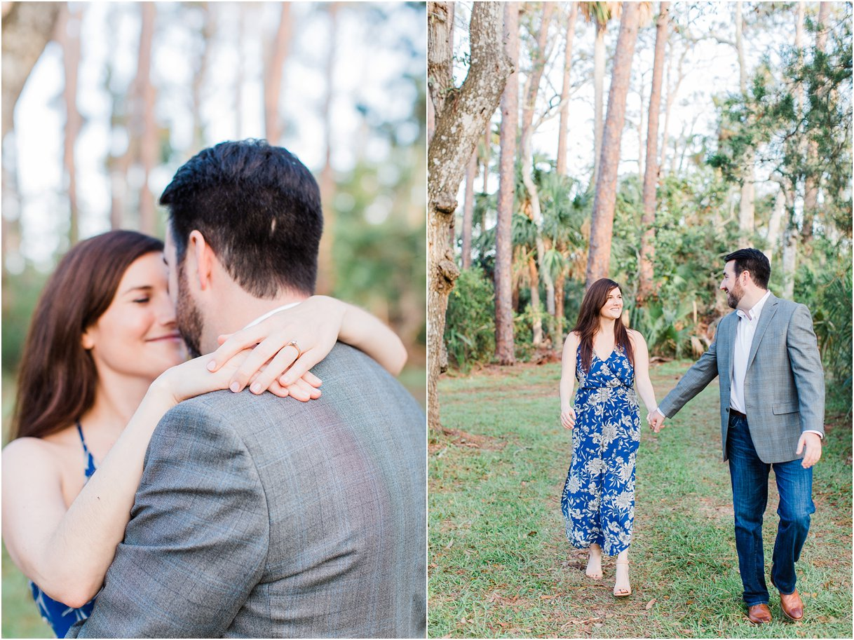 Tomoka Park Ormond Beach Florida Engagement Session Orlando Wedding Photographer PSJ Photography15.jpg