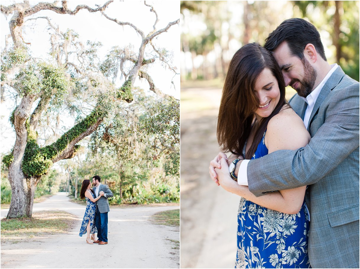 Tomoka Park Ormond Beach Florida Engagement Session Orlando Wedding Photographer PSJ Photography18.jpg