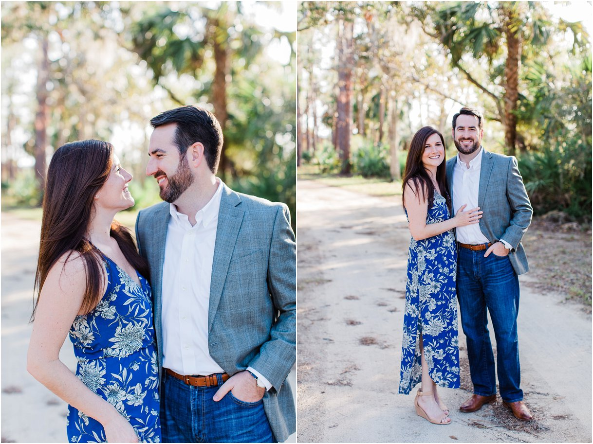 Tomoka Park Ormond Beach Florida Engagement Session Orlando Wedding Photographer PSJ Photography20.jpg