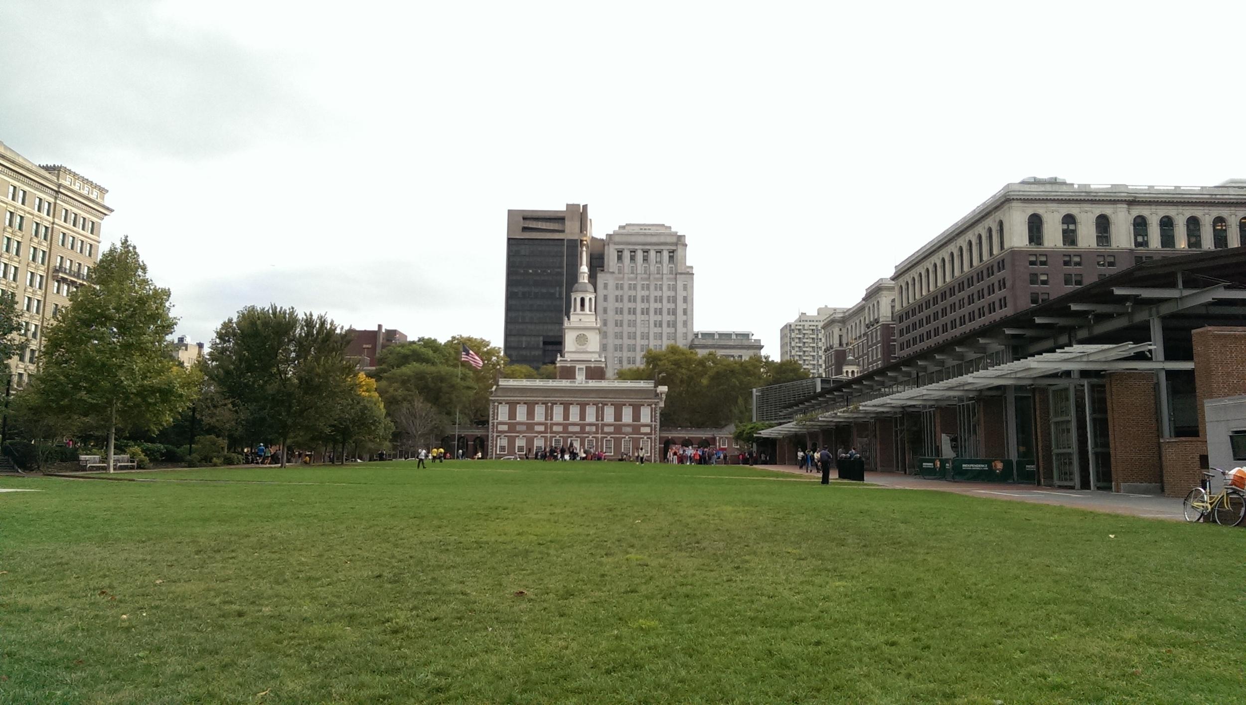 first view of Philadelphia