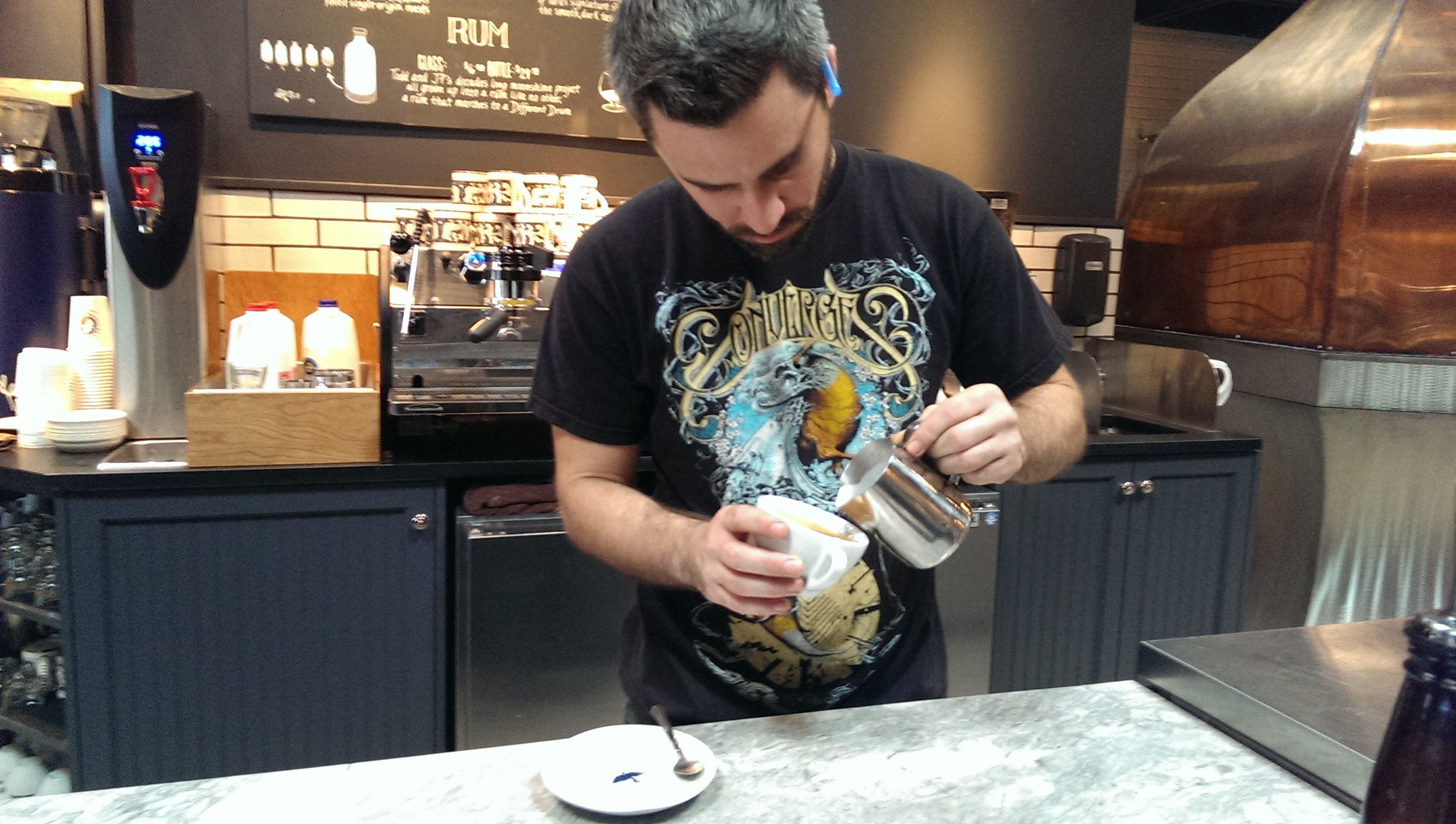 La Colombe barista
