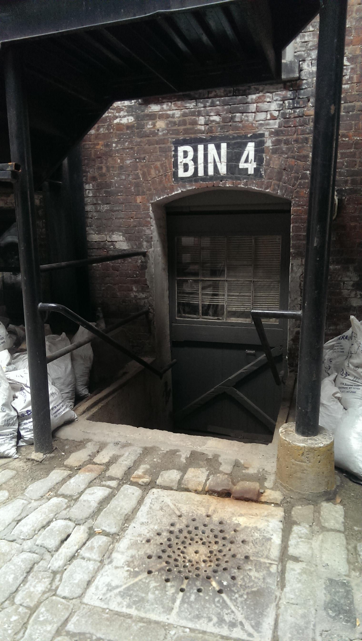 entrance old drain